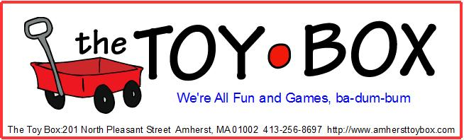 Toy Box of Amherst Store logo